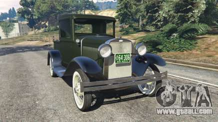 Ford Model A Pick-up 1930 for GTA 5