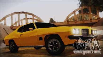 Pontiac Lemans Hardtop Coupe 1971 IVF АПП for GTA San Andreas