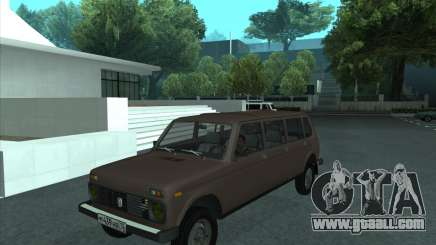 VAZ 2131 Samudera for GTA San Andreas