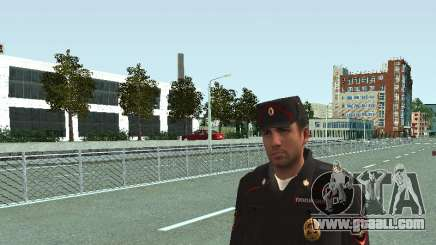 The Sergeant of PPS in the form of the new sample for GTA San Andreas
