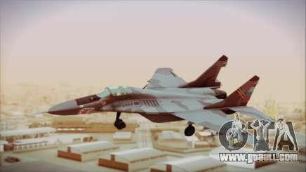 Mikoyan-Gurevich MIG-29A Russian Air Force for GTA San Andreas