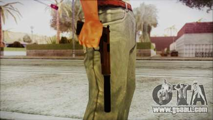 Original Colt 45 Silenced HD for GTA San Andreas