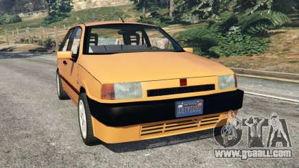Fiat Tipo for GTA 5