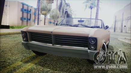GTA 5 Albany Buccaneer Bobble Version IVF for GTA San Andreas