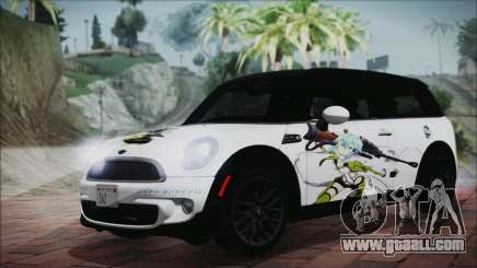 Mini Cooper Clubman 2011 Itasha for GTA San Andreas