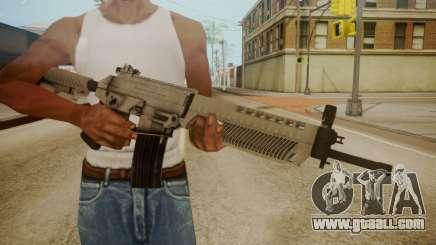 SIG-556 Patrol Rifle White for GTA San Andreas