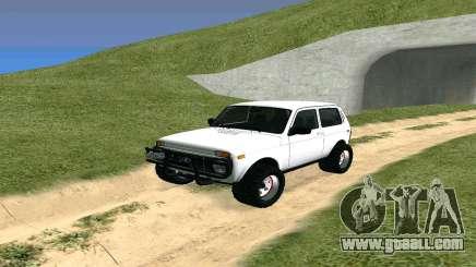Lada Urban OFF ROAD for GTA San Andreas