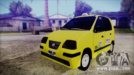 Hyundai Atos Taxi Colombiano for GTA San Andreas