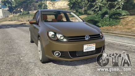 Volkswagen Golf Mk6 for GTA 5