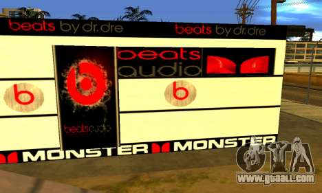 Monster Beats Studio by 7 Pack for GTA San Andreas third screenshot
