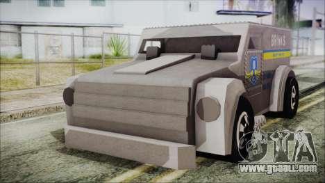 Hot Wheels Funny Money Truck for GTA San Andreas