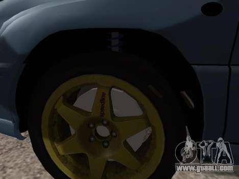 Subaru Forester 1998 for GTA San Andreas inner view