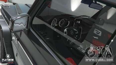 GTA 5 Mercedes-Benz G63 AMG v1 steering wheel