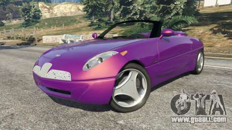 GTA 5 Daewoo Joyster Concept 1997 v1.3 right side view
