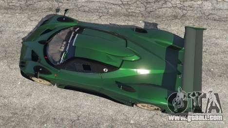 GTA 5 Pagani Zonda R v0.91 back view
