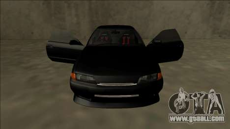 Nissan Skyline R32 Drift for GTA San Andreas upper view