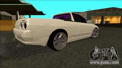 Nissan Skyline R32 Drift for GTA San Andreas back left view