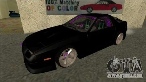 Mazda RX-7 FC Drift for GTA San Andreas