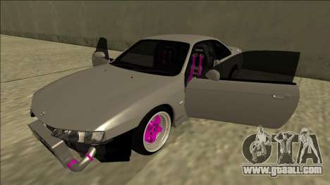 Nissan Silvia S14 Drift for GTA San Andreas bottom view