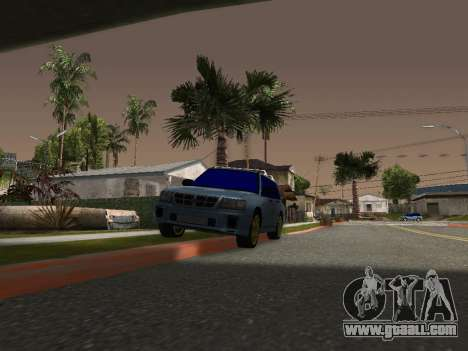Subaru Forester 1998 for GTA San Andreas left view