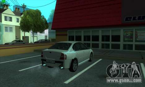 Subaru Legacy for GTA San Andreas right view