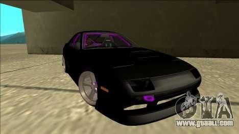 Mazda RX-7 FC Drift for GTA San Andreas right view