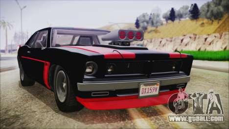 GTA 5 Declasse Tampa IVF for GTA San Andreas