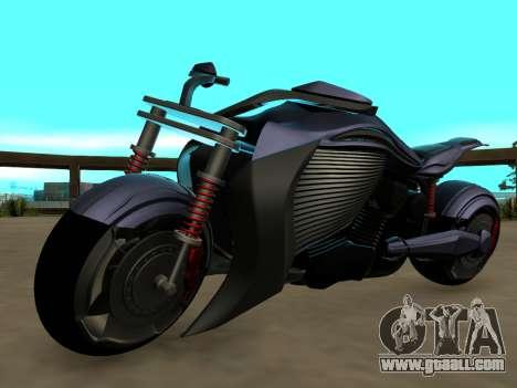 Krol Taurus concept HD ADOM v2.0 for GTA San Andreas back view