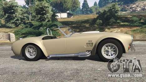 AC Cobra v1.3 for GTA 5