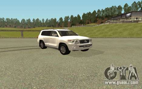 Toyota Land Cruiser 200 Bulkin Edition for GTA San Andreas