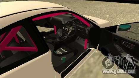 Honda Integra Drift for GTA San Andreas back view