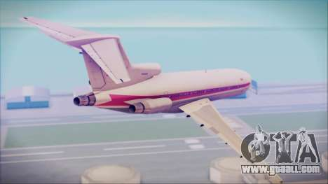 Boeing 727-200 Trans World Airlines for GTA San Andreas left view