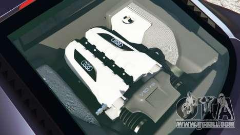 GTA 5 Audi R8 Quattro rear right side view
