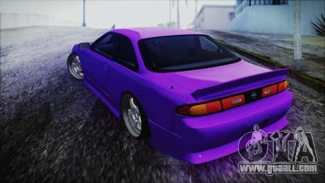 Nissan Silvia S14 Zenki BN Sports for GTA San Andreas left view
