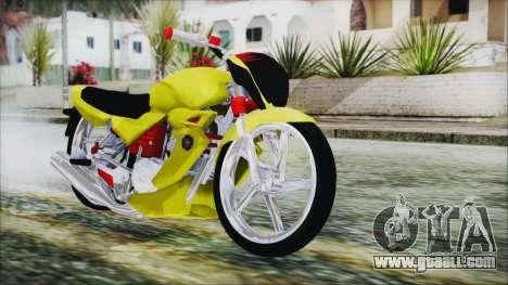 Yamaha Tuning Full Cromo for GTA San Andreas