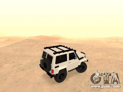 Toyota Machito Off-Road (IVF) 2009 for GTA San Andreas left view