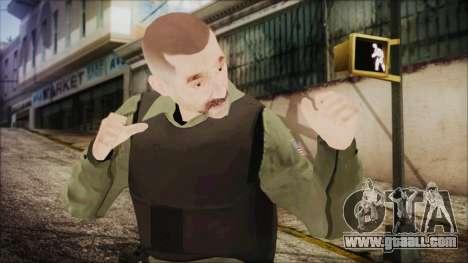 GTA 5 Ammu-Nation Seller 2 for GTA San Andreas
