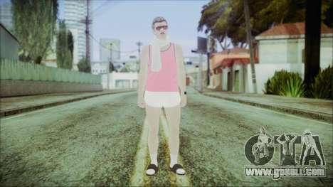GTA Online Skin 36 for GTA San Andreas second screenshot