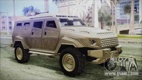 GTA 5 HVY Insurgent Van for GTA San Andreas