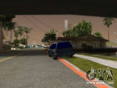 Subaru Forester 1998 for GTA San Andreas back left view