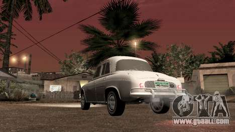 Willys-Overland Gordini III 1966 - Beta for GTA San Andreas back left view