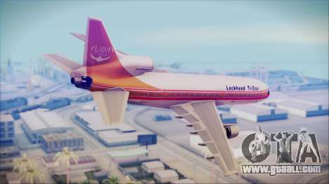 Lockheed L-1011 TriStar Prototype for GTA San Andreas left view