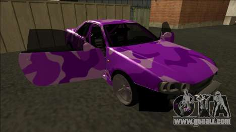 Nissan Skyline R34 Drift for GTA San Andreas engine