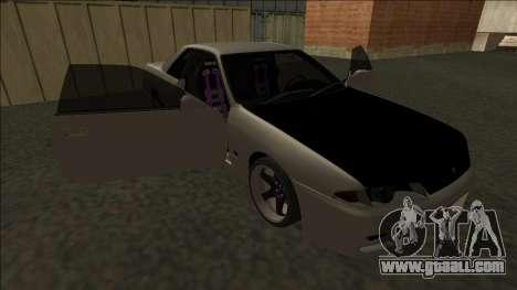 Nissan Skyline R32 Drift for GTA San Andreas bottom view