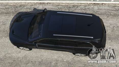 GTA 5 Jeep Grand Cherokee SRT8 2013 back view