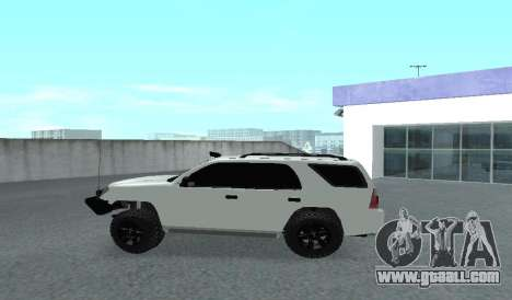 Toyota 4runner 2008 semi-off_road LED for GTA San Andreas left view