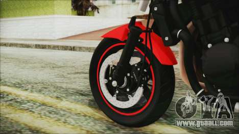 Suzuki Bandit 1250N for GTA San Andreas back left view