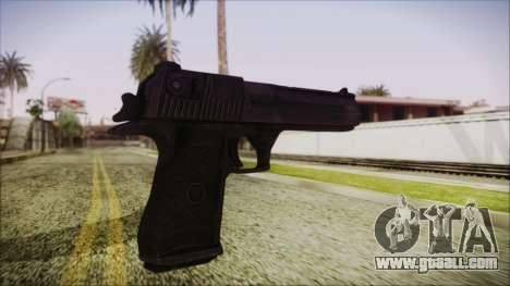 PayDay 2 Deagle for GTA San Andreas third screenshot