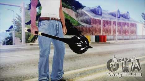 Bulat Steel Mace for GTA San Andreas third screenshot