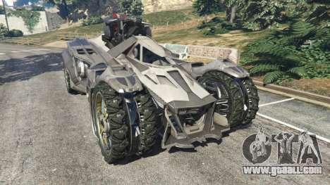 Batmobile Mk2 v0.9 for GTA 5